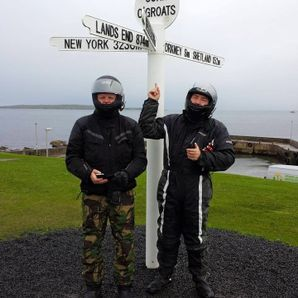 motorcycle tours Scotland John O'Groats