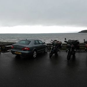 Motorcycle tours Scotland Applecross