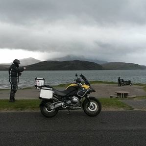 motorcycle tours Scotland Tongue