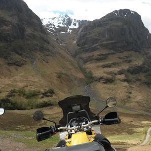 motorcycle tours Scotland Glencoe